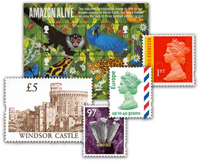 British Stamps - B.Alan Stamps Ltd